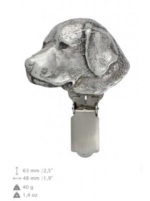 Labrador Retriever - clip (silver plate) - 307 - 26446