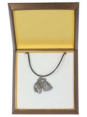 Lakeland Terrier - necklace (silver plate) - 2996 - 31139