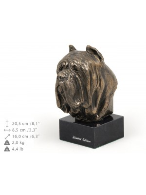 Neapolitan Mastiff - figurine (bronze) - 248 - 9158