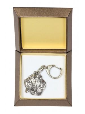 Neapolitan Mastiff - keyring (silver plate) - 2731 - 29850