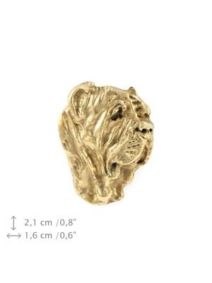 Neapolitan Mastiff - pin (gold) - 1488 - 7422