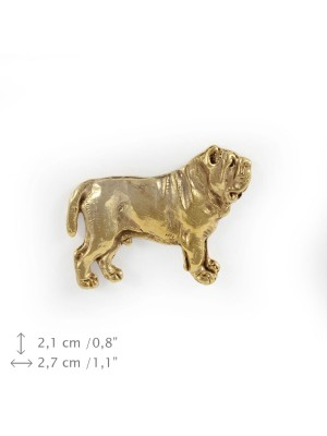 Neapolitan Mastiff - pin (gold) - 1557 - 7533