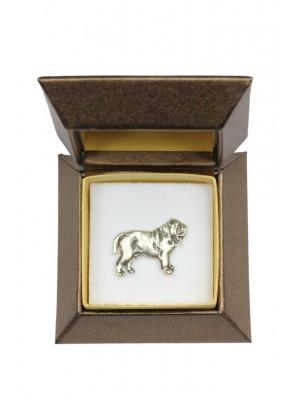 Neapolitan Mastiff - pin (silver plate) - 2657 - 28939