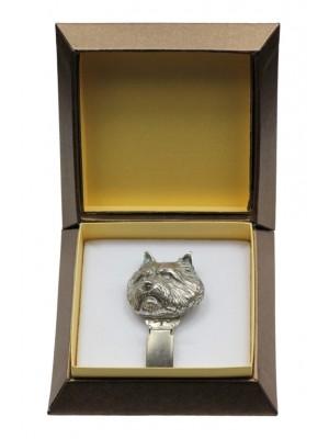 Norwich Terrier - clip (silver plate) - 2571 - 28152