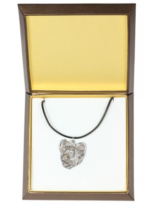 Papillon - necklace (silver plate) - 3004 - 31147