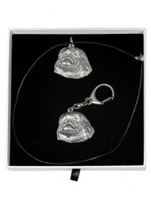 Pekingese - keyring (silver plate) - 2010 - 16146
