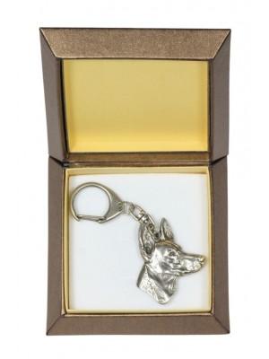 Pharaoh Hound - keyring (silver plate) - 2783 - 29903