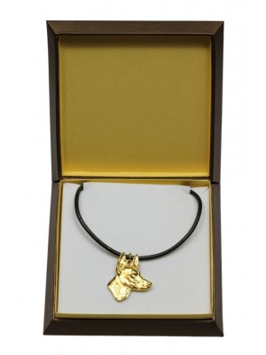 Pharaoh Hound - necklace (gold plating) - 3054 - 31690