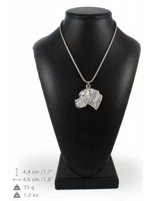 Pointer - necklace (silver cord) - 3174 - 33091