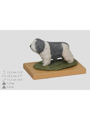 Polish Lowland Sheepdog - figurine - 2361 - 24965