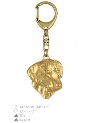 Rhodesian Ridgeback - keyring (gold plating) - 809 - 25087