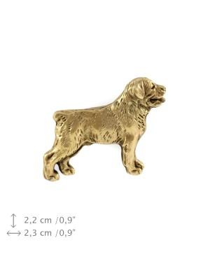 Rottweiler - pin (gold) - 1493 - 7442