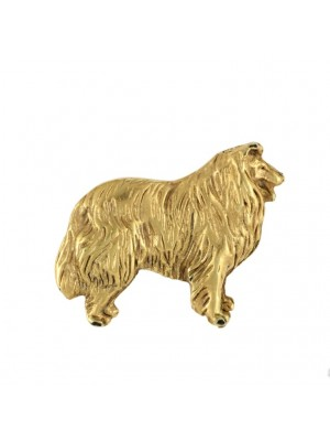 Rough Collie - pin (gold) - 2689 - 28988