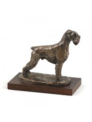 Schnauzer - figurine (bronze) - 619 - 3124