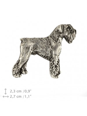 Schnauzer - pin (silver plate) - 443 - 25862
