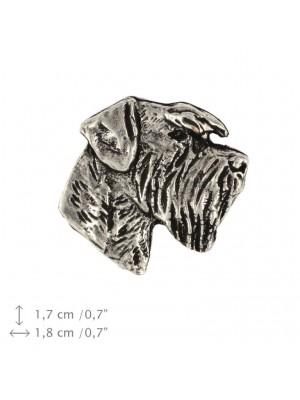 Schnauzer - pin (silver plate) - 467 - 25973