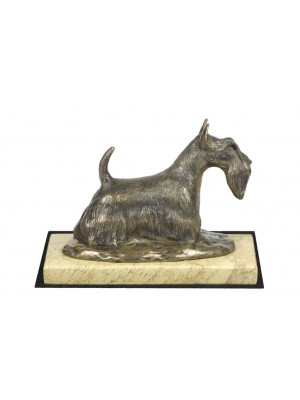 Scottish Terrier - figurine (bronze) - 4677 - 41812