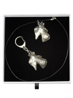 Scottish Terrier - keyring (silver plate) - 1986 - 15608