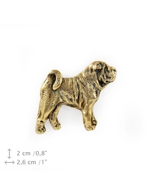 Shar Pei - pin (gold plating) - 1095 - 7906