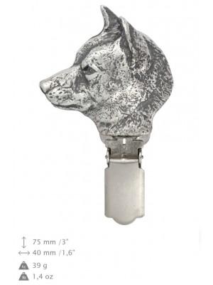 Shiba Inu - clip (silver plate) - 2582 - 28163