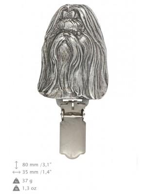 Shih Tzu - clip (silver plate) - 246 - 26216