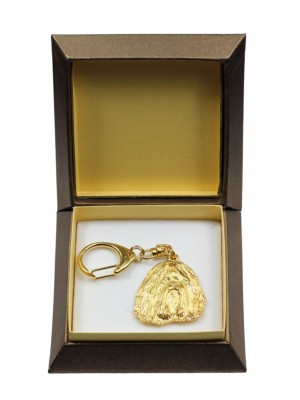 Shih Tzu - keyring (gold plating) - 2845 - 30507