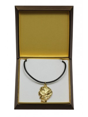 St. Bernard - necklace (gold plating) - 3051 - 31687