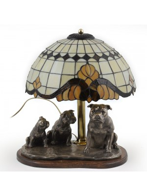 Staffordshire Bull Terrier - lamp (bronze) - 17 - 3170