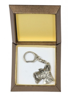 Switch Terrier - keyring (silver plate) - 2736 - 29855