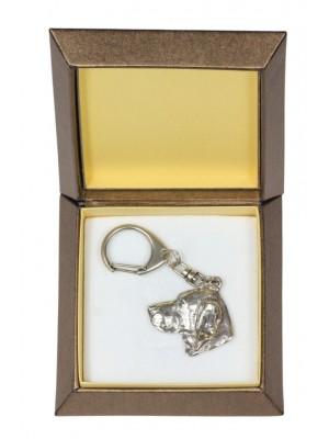 Weimaraner - keyring (silver plate) - 2806 - 29929