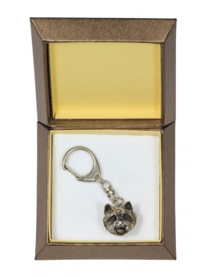 West Highland White Terrier - keyring (silver plate) - 2803 - 29926