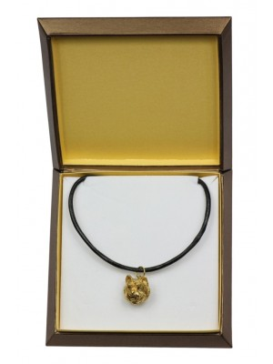 West Highland White Terrier - necklace (gold plating) - 2519 - 27678