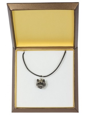 West Highland White Terrier - necklace (silver plate) - 2990 - 31133