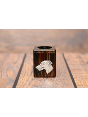 Whippet - candlestick (wood) - 3922 - 37510