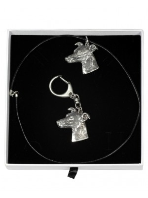 Whippet - keyring (silver plate) - 1952 - 14809