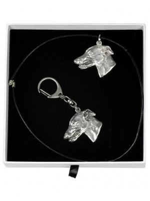 Whippet - keyring (silver plate) - 1958 - 14970