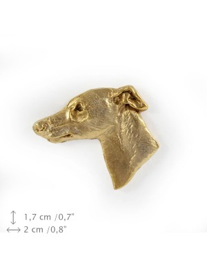 Whippet - pin (gold) - 1480 - 7382