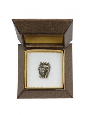 Yorkshire Terrier - pin (silver plate) - 2677 - 28959