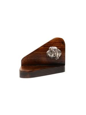 Basset Hound - candlestick (wood) - 3608