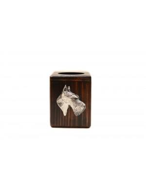 Scottish Terrier - candlestick (wood) - 3951