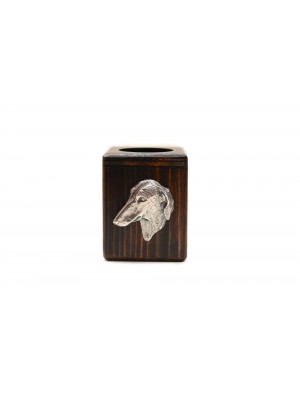 Azawakh - candlestick (wood) - 3964