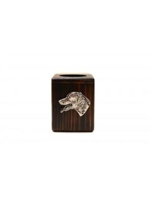 Dalmatian - candlestick (wood) - 3894