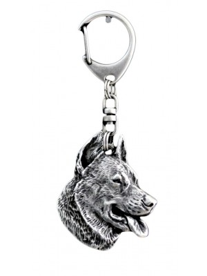Beauceron - keyring (silver plate) - 53