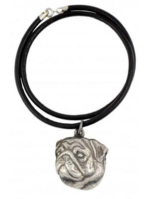 Pug - necklace (strap) - 738