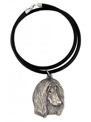 Afghan Hound - necklace (strap) - 761
