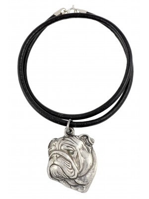 English Bulldog - necklace (strap) - 229