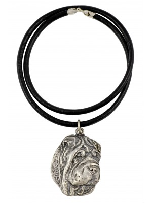 Shar Pei - necklace (strap) - 233