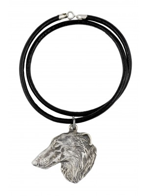 Barzoï Russian Wolfhound - necklace (strap) - 240