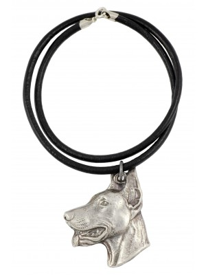 Doberman pincher - necklace (strap) - 269