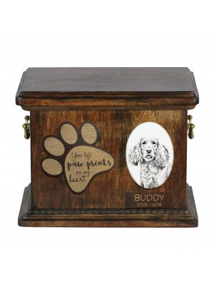Afghan Hound - exclusive urn